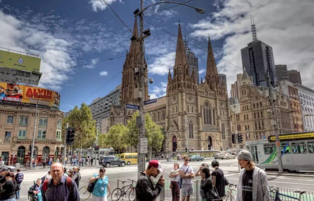 澳大利亚街头风景图片