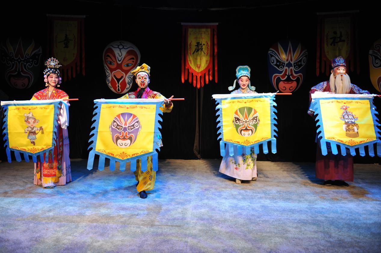 童戏社《脸谱戏三绝》二轮将开演 戏曲乌托邦邀你玩