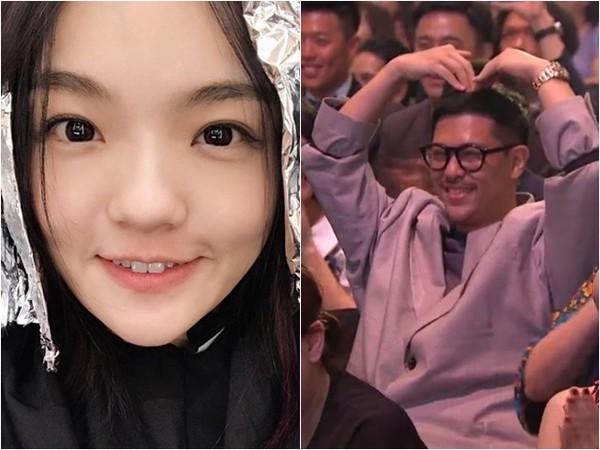 徐佳莹与老公婚后首同框 穿情侣装疑拍婚纱照