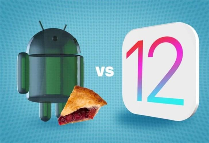 苹果iOS 12 VS 安卓9 Pie:几个重点特性谁更强?