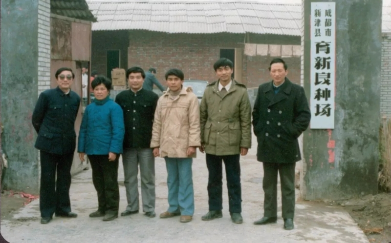 """飼料大王劉永好在1982:四兄弟脫下""""公服""""建""""希望"""""""