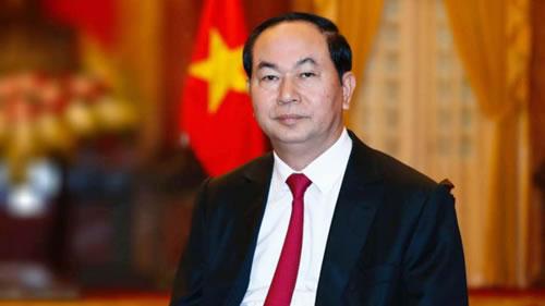 越南国家主席陈大光因病医治无效 在河内医院逝世