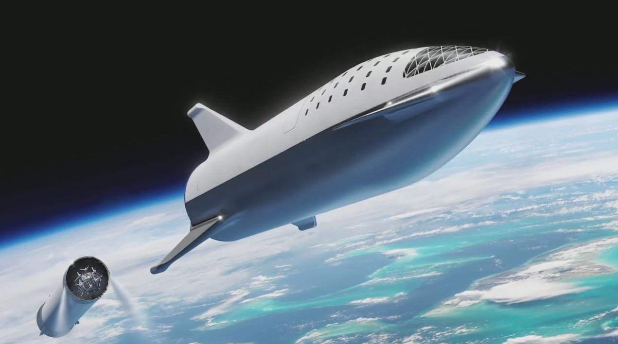 马斯克更新BFR火箭设计:可向火星运载100吨载荷