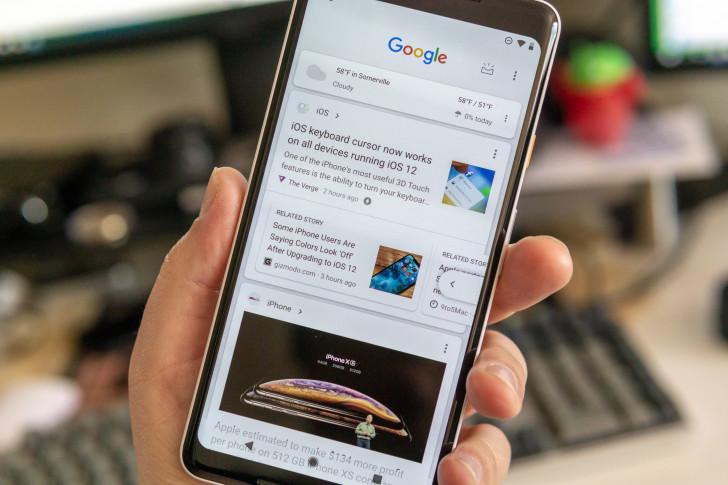 谷歌搜索宣布全面改版搜索框下增加個性化信息流