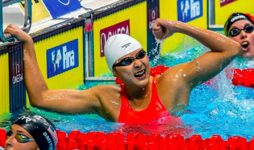 女版孙杨!16岁天才少女破40年纪录 30天夺5冠