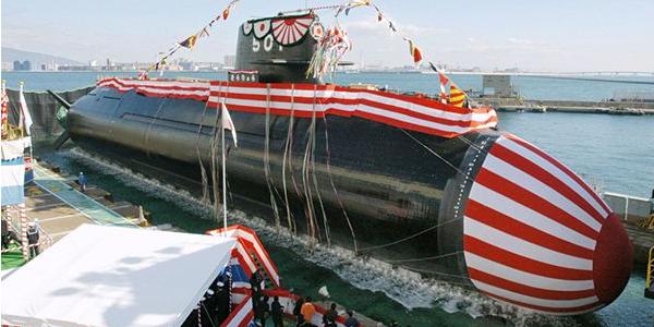 """日本下水世上首艘""""锂潜艇"""" 全靠瑞典""""猪队友"""""""