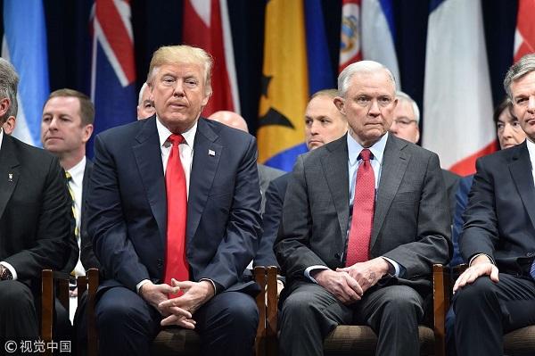 """""""离职潮""""再起?美司法部长或下台 总统想好继任者"""