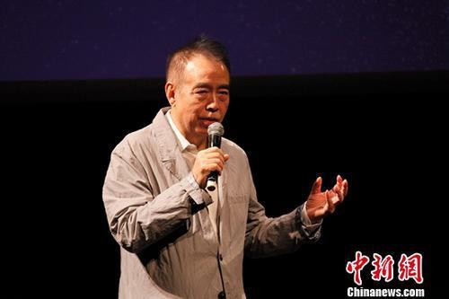 资料图:陈凯歌。中新社记者余瑞冬摄