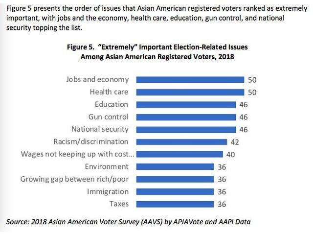中期选举:亚裔热情高近四成选民不站队