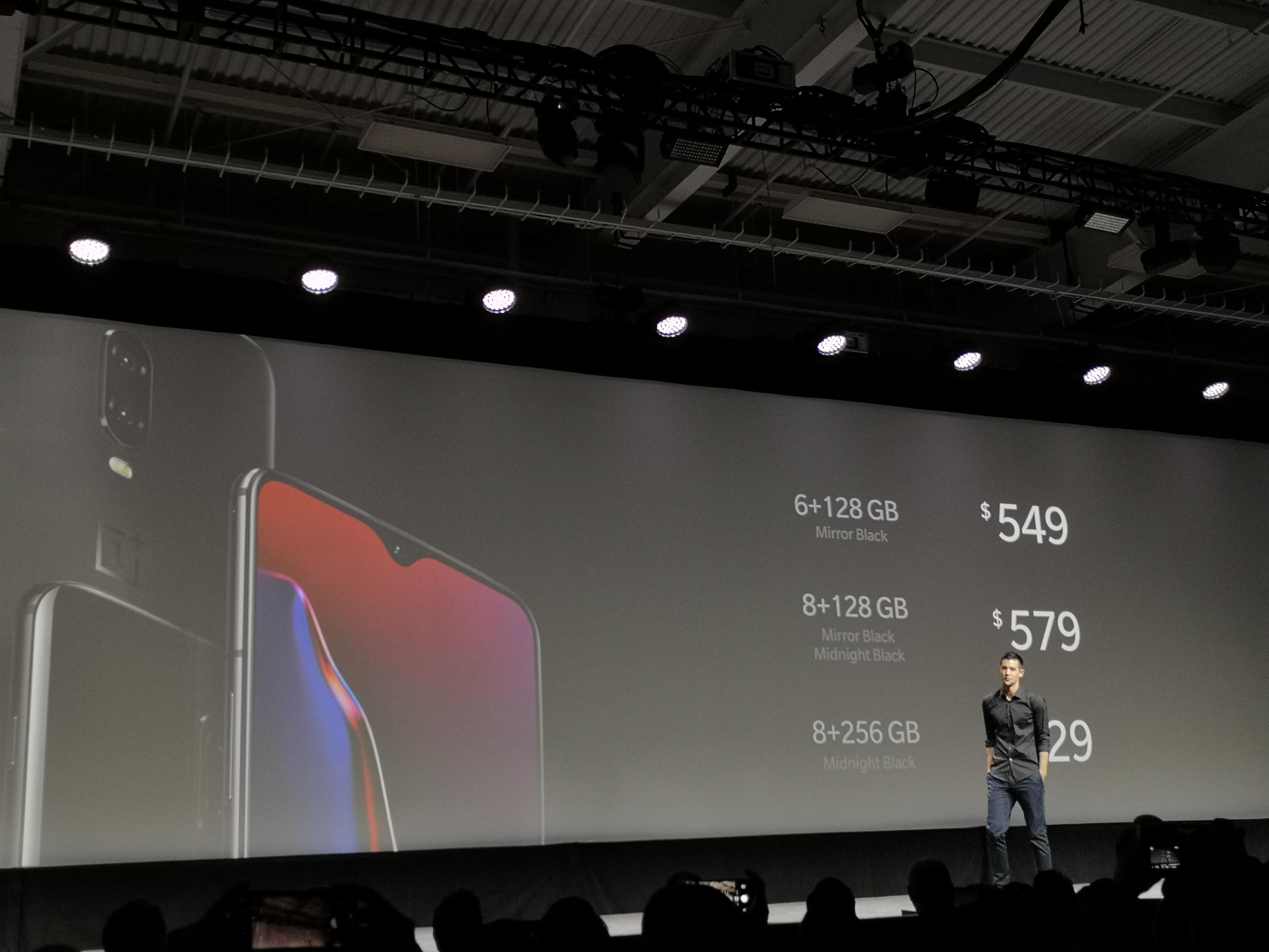 一加手机正式进军美国市场发布549美金起