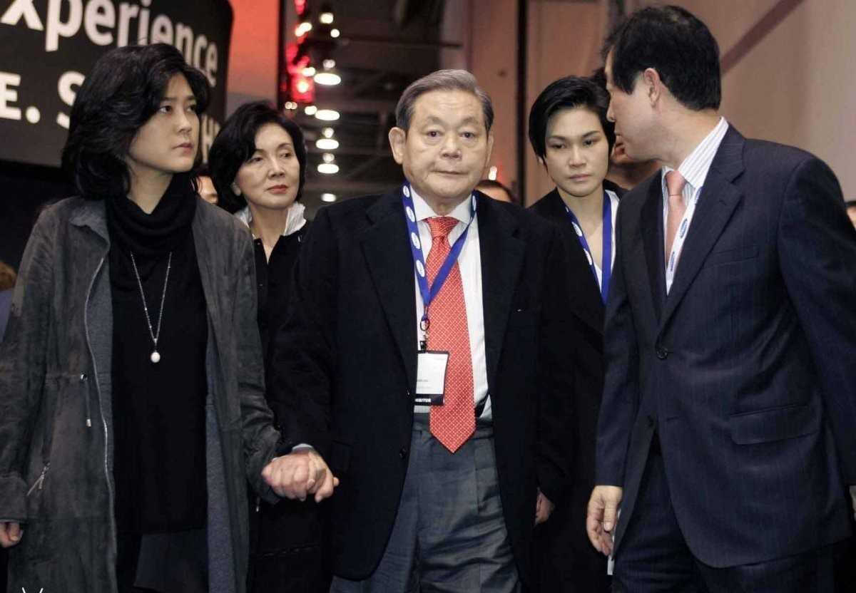 韩国监管方决定起诉三星会长李健熙:涉嫌故意违法