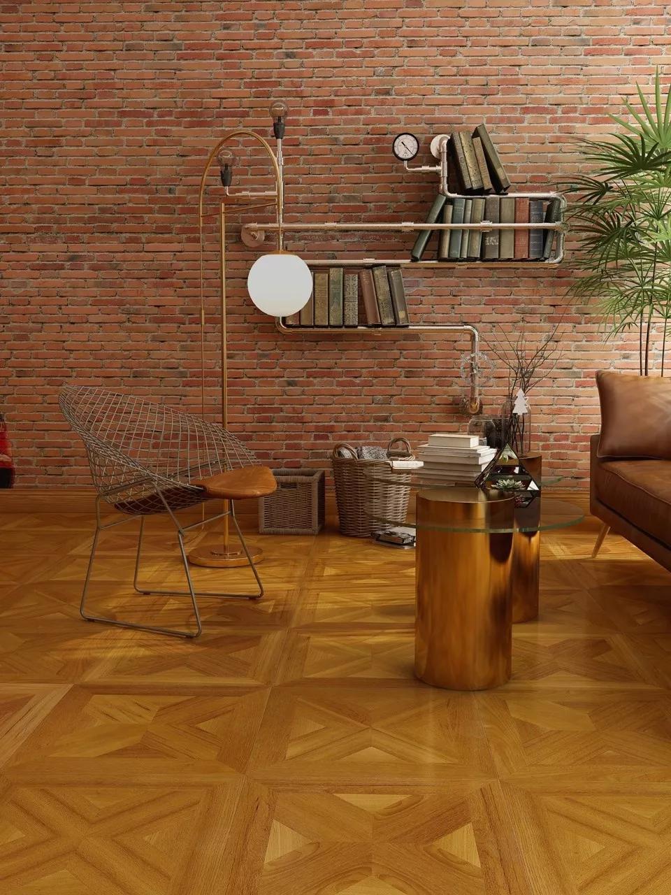 鋪上生活家地板,讓小戶型裝出家里有礦的Feel