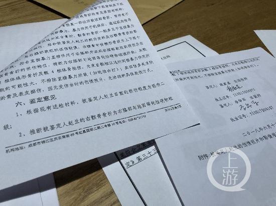 四川求实司法鉴定所的鉴定结论
