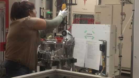 特斯拉成功的关键:超级工厂内部探营