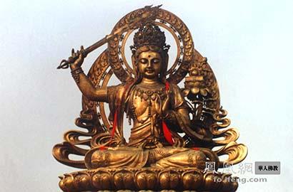 佛教明明戒杀 可文殊菩萨为何高举宝剑?_宝剑-念头-文殊-菩萨-佛教