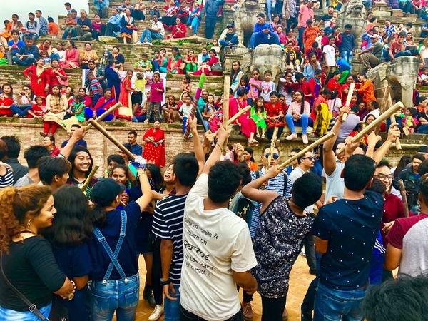 """""""众神之国""""尼泊尔的快乐和骄傲"""