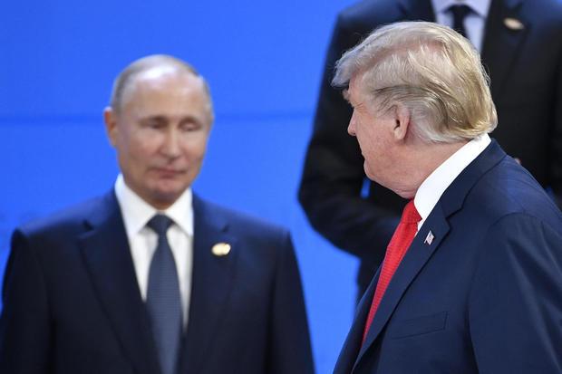 特朗普与普京在G20期间举行非正式会谈