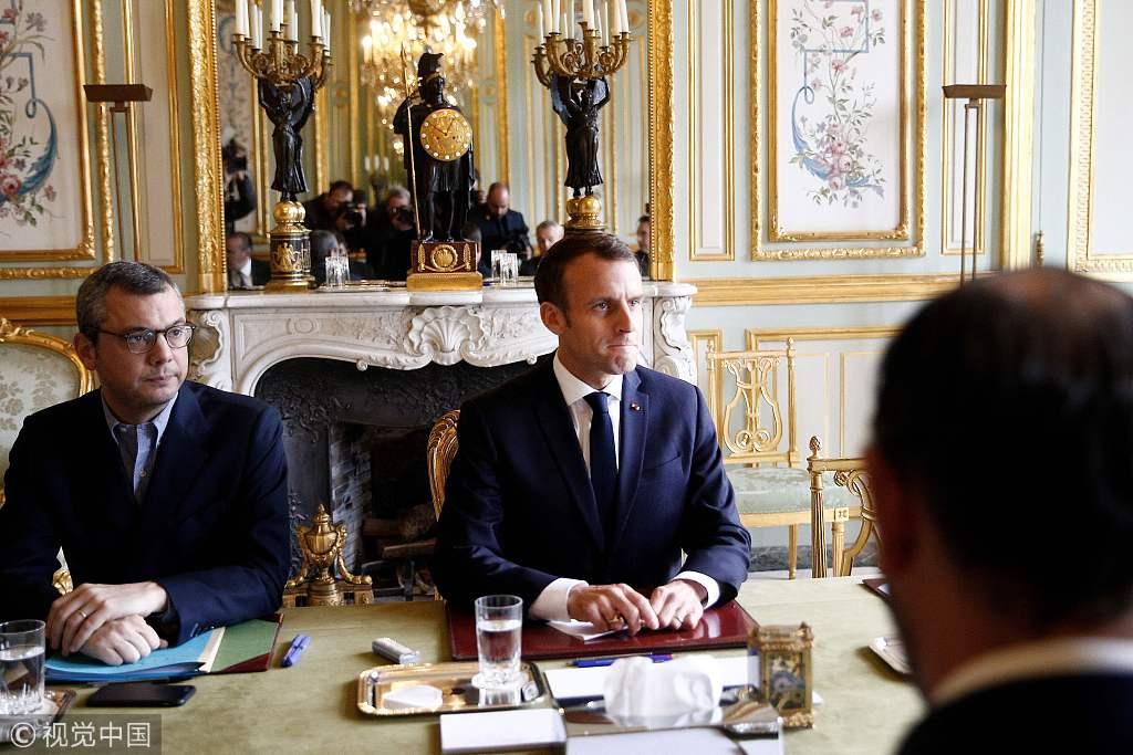 """法国遇50年来最严重骚乱 凯旋门被涂""""推翻资产阶级"""""""