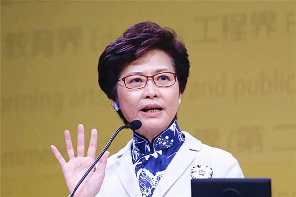 林郑月娥:不要幻想香港政府去救楼市