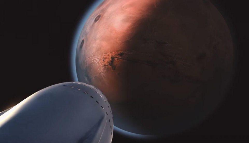 SpaceX要在10年内将人类送上火星 能做到吗?