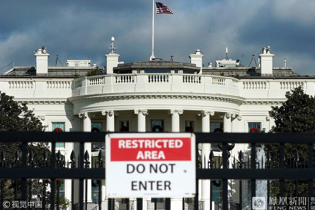 美国政府正式部分关门