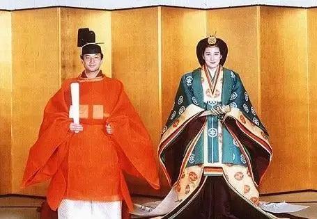 ▲日本皇太子德仁与雅子王妃婚礼