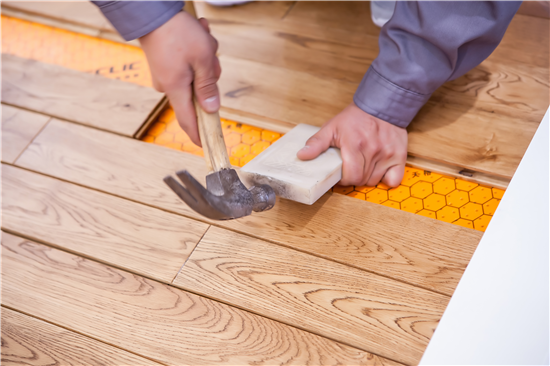 环保健康家装,你不可错过的天格地暖实木地板