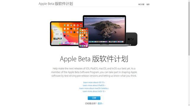 普通iPad和iPhone用户也可以装13了