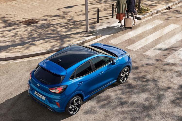 福特PUMA官图公布 一辆汽车非常有个性化的中小型跨界营销SUV