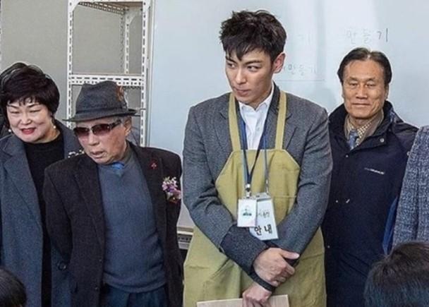 Bigbang成员TOP今日退伍 被曝出吸食大麻后转任公益兵