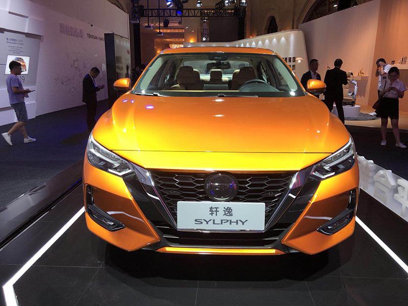 东风日产第14代轩逸发售 更年青、更智能化/10.9万起售