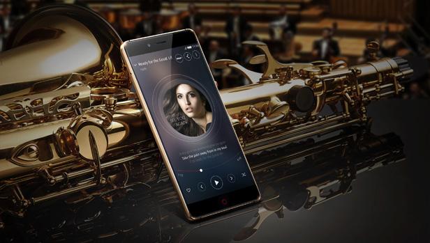 努比亚手机z11黑金高清大图