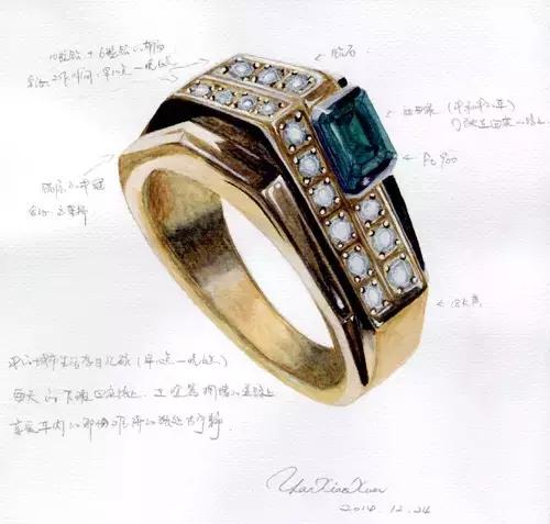 上海珠宝设计手绘班开班在即