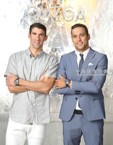 迈克尔b菲尔普斯(Michael Phelps) 和查德b勒b克洛斯(Chad Le 图片