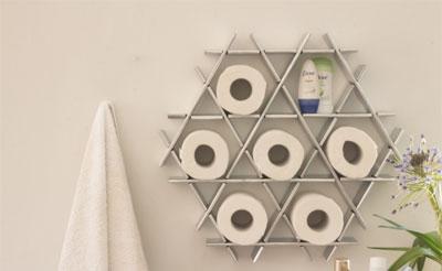 6款设计告诉你怎样放厕纸最优雅