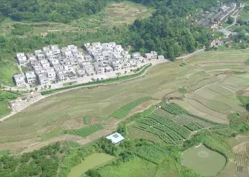航拍·大美小村——浸潭虎尾村,活力新村和魅力旧村的完美融合