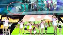 女团舞台意外不断 8连摔惊呆粉丝