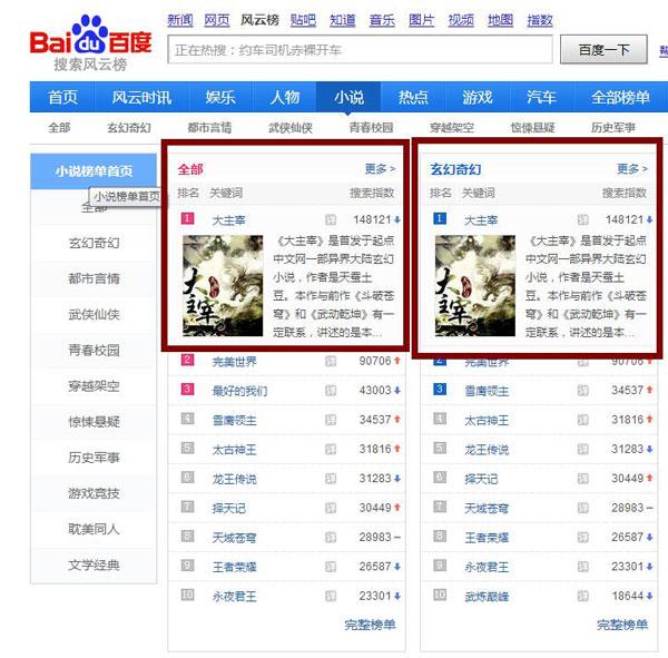 游小说 网站 排行榜_网游小说排行榜