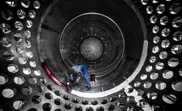 直击俄最大核反应堆生产厂 粗犷与精密令人震撼