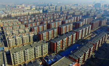 中国某县城人口24万 楼市库存670万平方米