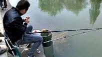 浙江:男子鱼塘边钓鱼 被鱼塘主人拉上船推入水中溺亡