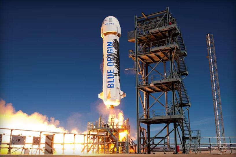 加快发展脚步:蓝色起源也揽下了NASA的运输任务