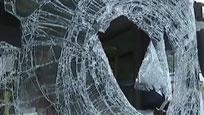 """浙江:公交司机遭""""飞胎""""撞击不幸身亡"""