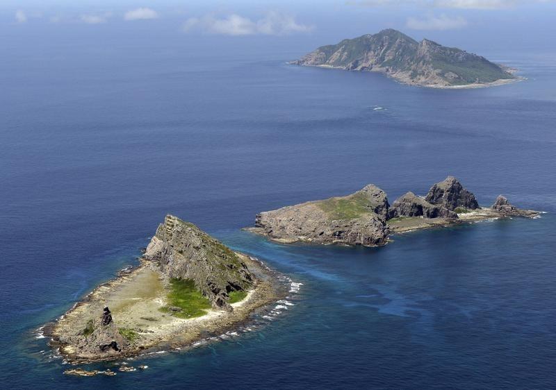 钓鱼岛周边海域,在南海推进