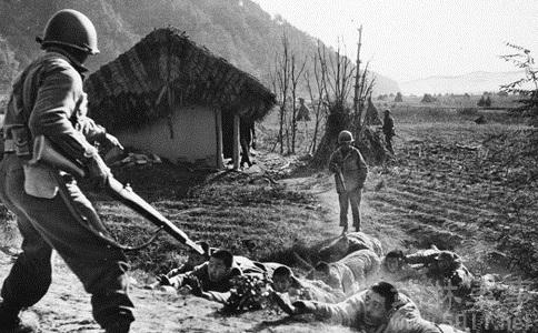 中国万岁军与韩军殊死搏斗 志愿军军官战场叛变