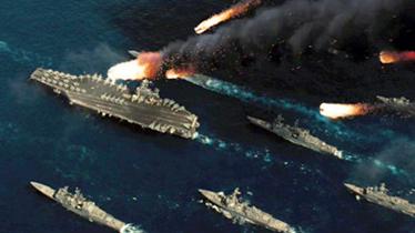 美军战舰南海炫耀武力 中国亮出五款航母杀手