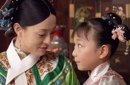 孙俪竟和妹妹一起演过《甄嬛传》!