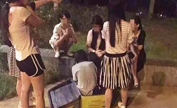 男子迷晕女大学生 将其全裸装行李箱