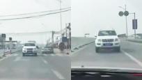 北京惊现奇葩司机一路倒车行驶 车技惊人甩你几条街