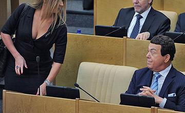 这是俄罗斯议会的日常